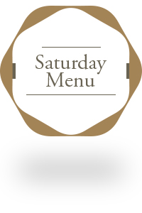 saturday menu